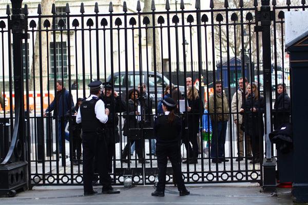 Downing Street Polizei