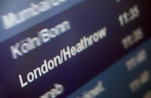 Geschlossene Flughäfen in London