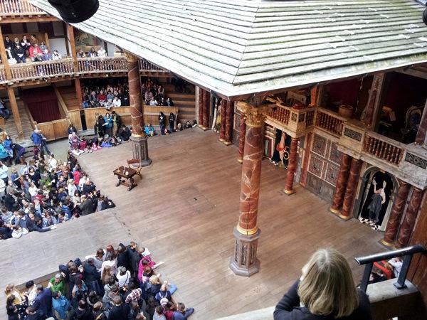Globe Theatre von Innen