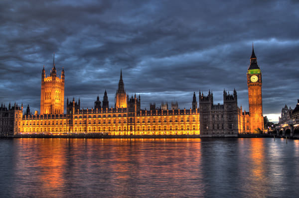 Houses of Parliament bei Nacht