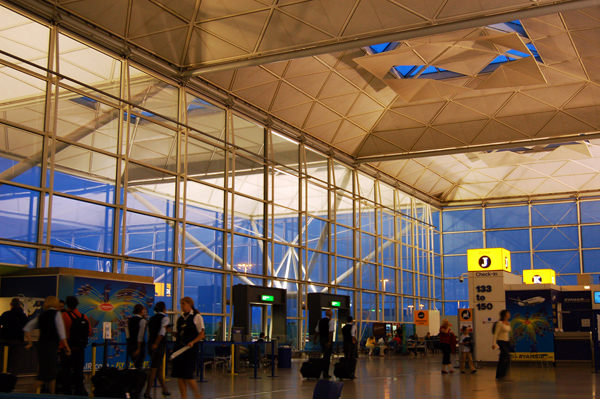 London Stansted Eingang