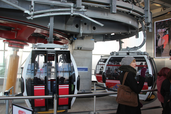 Emirates Air Line Kabine